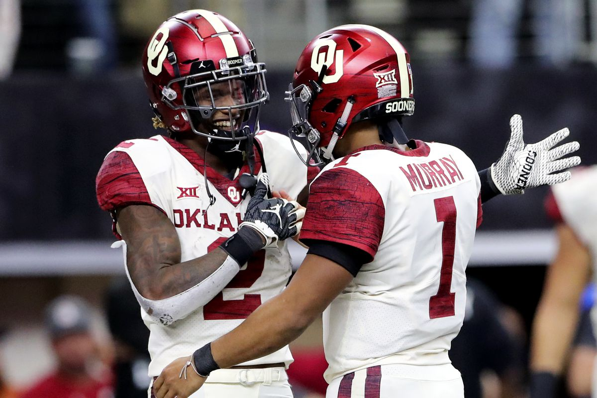 Image result for ceedee lamb and kyler murray