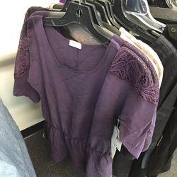 Purple dress, $49 (was $165)