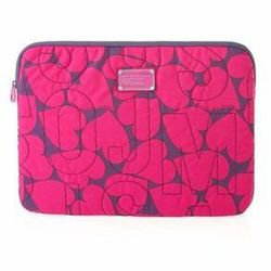 """<a href=""""http://www.marcjacobs.com/marc-by-marc-jacobs/laptop-cases/m6121055/pretty-nylon-printed-15-computer-case#?p=3&s=12"""" Marc by Marc Jacobs Pretty Nylon printed computer case</a>, $82 marcjacobs.com"""