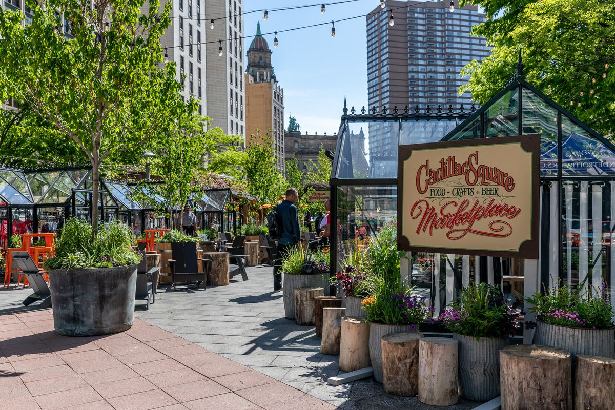 Downtown Detroit Markets Open For The Summer Curbed Detroit