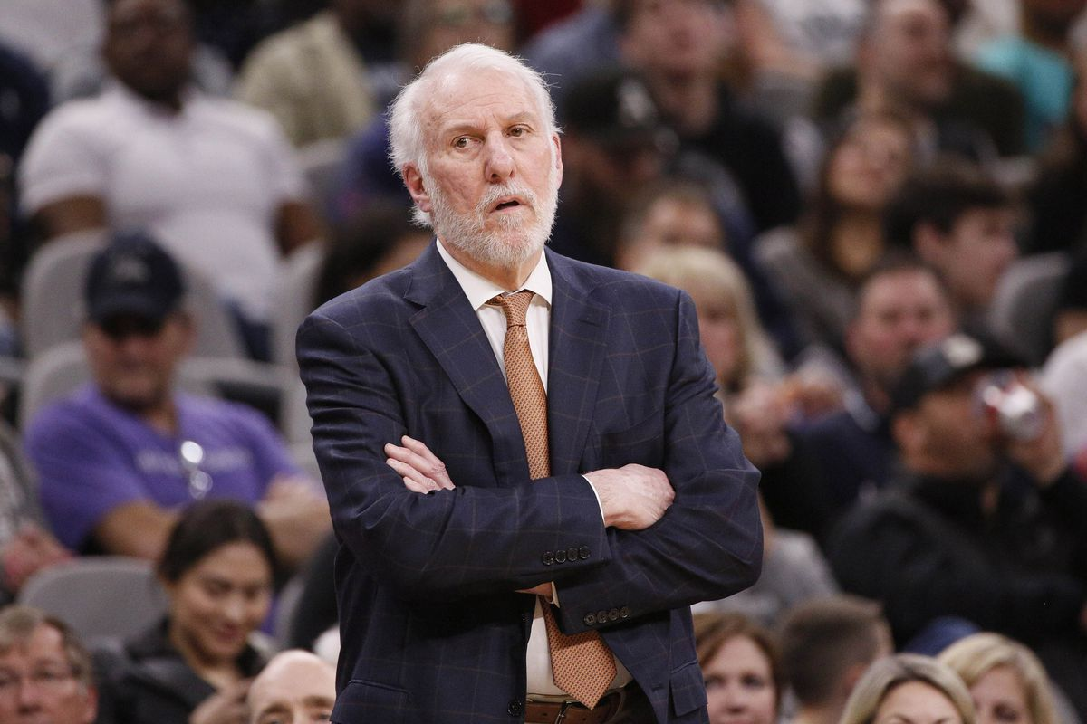 a rare glimpse behind the scenes of how pop coaches the spurs