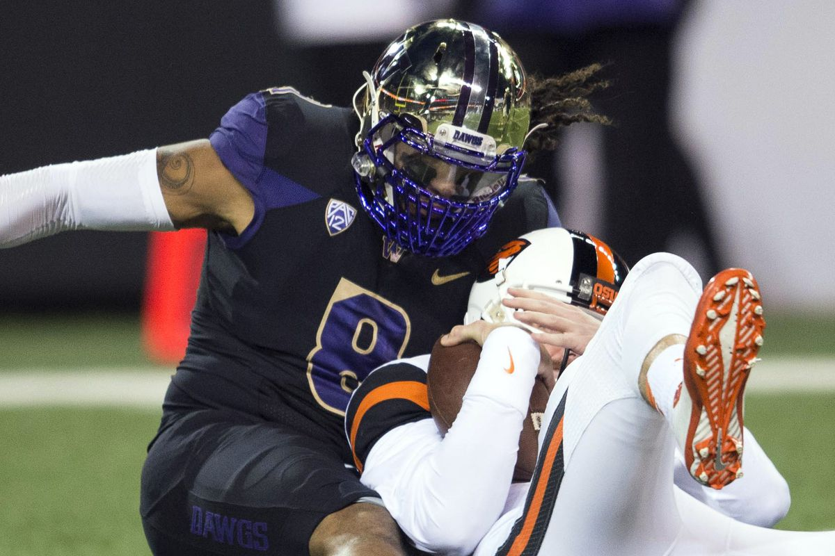 Oregon State's momentum from last week's big week is upturned with a costly 37 to 13 loss to the Washington Huskies
