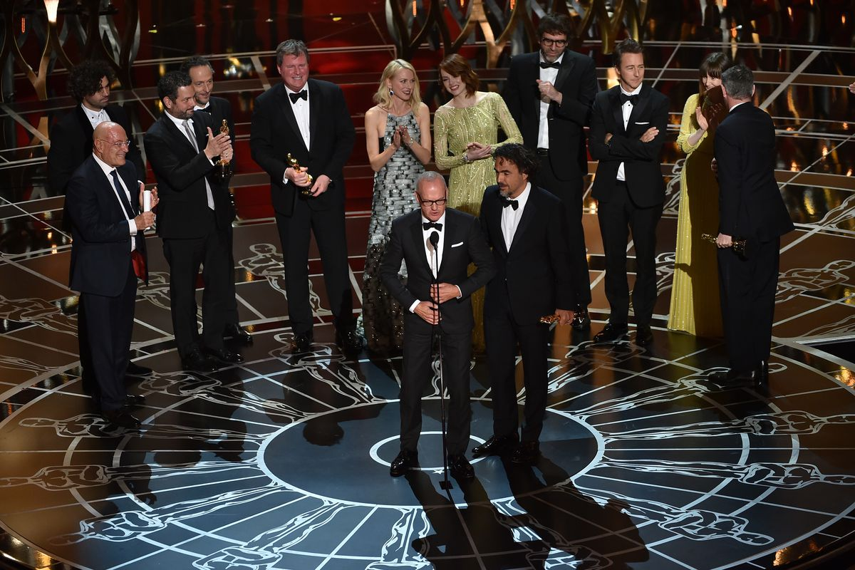 Birdman won Best Picture at this year's Academy Awards