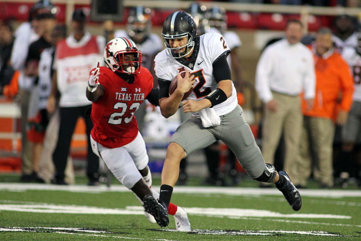 NCAA Football: Oklahoma State at Texas Tech