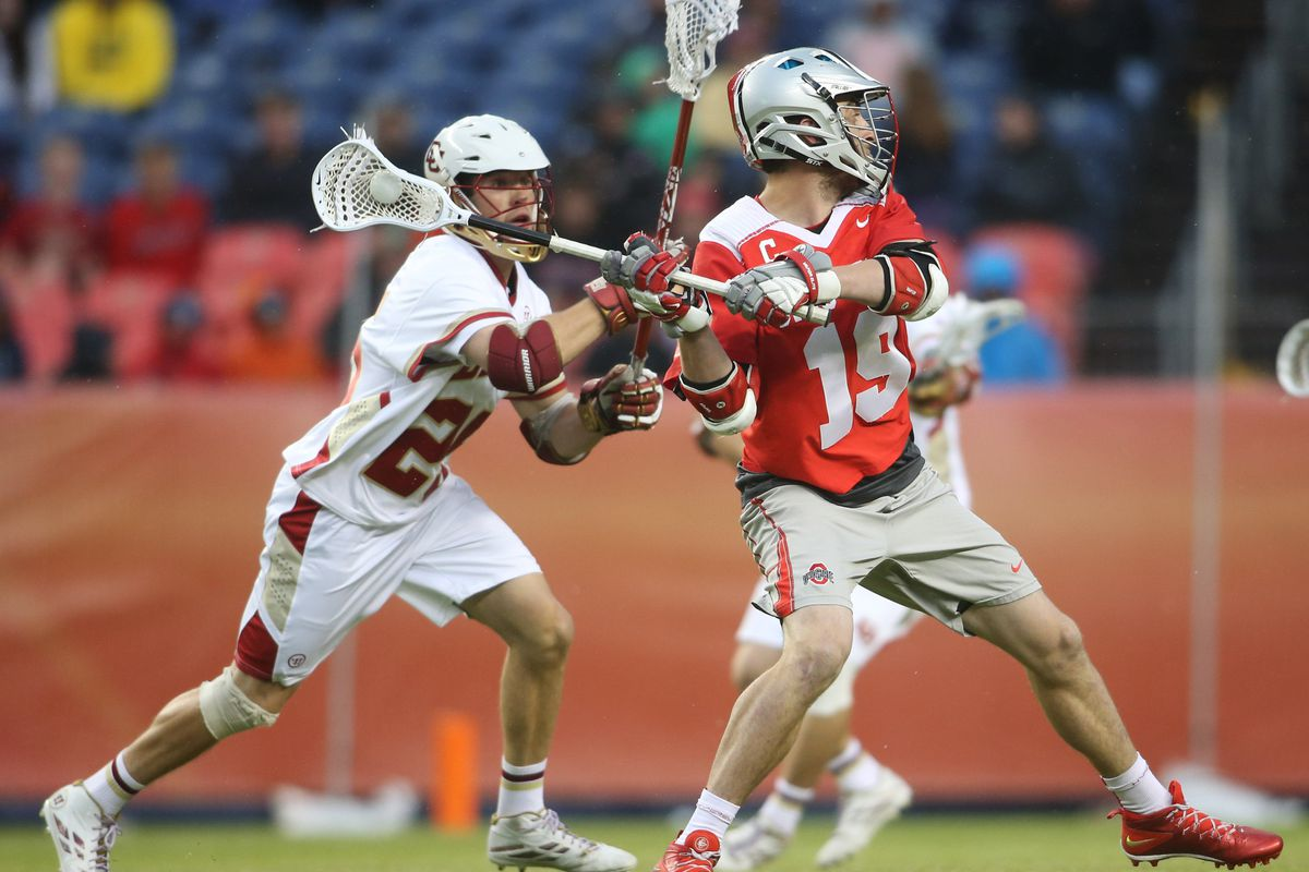 Jesse King was one of three Buckeyes to earn USILA All-American honors