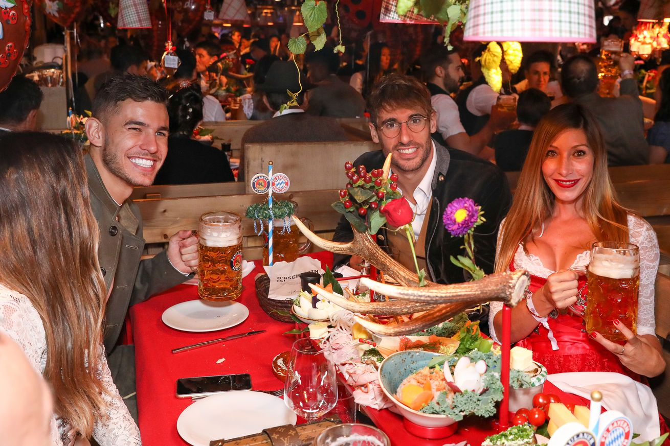 Lucas Hernandez adjusting to life in Munich and eating dinner at 7:00 pm