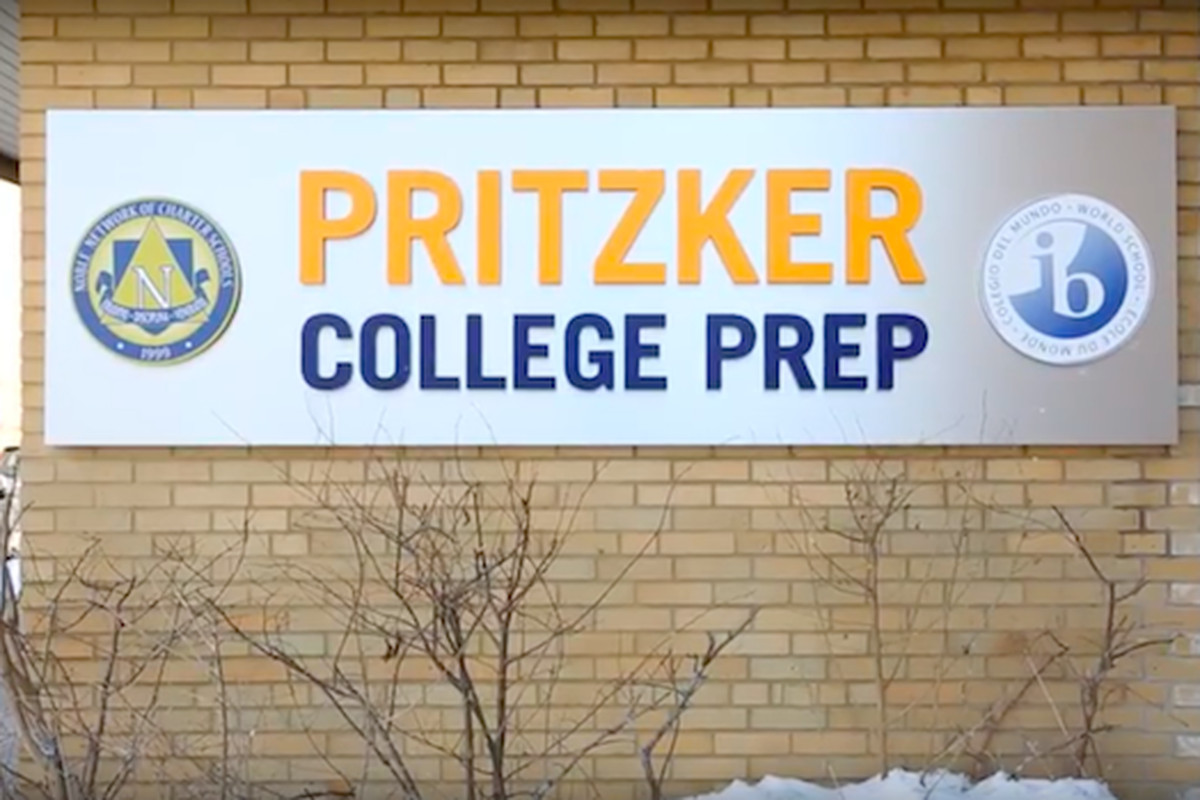 One Noble campus is named for Penny Pritzker, former U.S. commerce secretary and sister to Illinois' incoming governor.