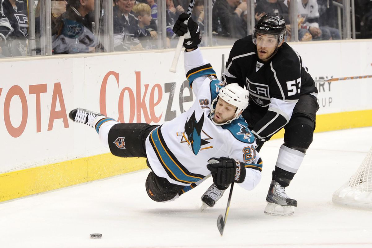 Another similarity: both Demers & Martinez hate Scott Nichol.  (Photo by Harry How/Getty Images)