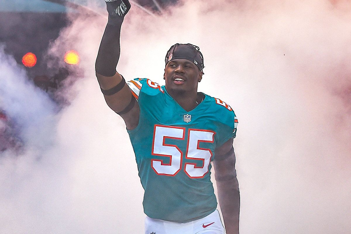 sports shoes 12561 28cd1 Miami Dolphins 90-in-90 roster breakdown 2019: Jerome Baker ...