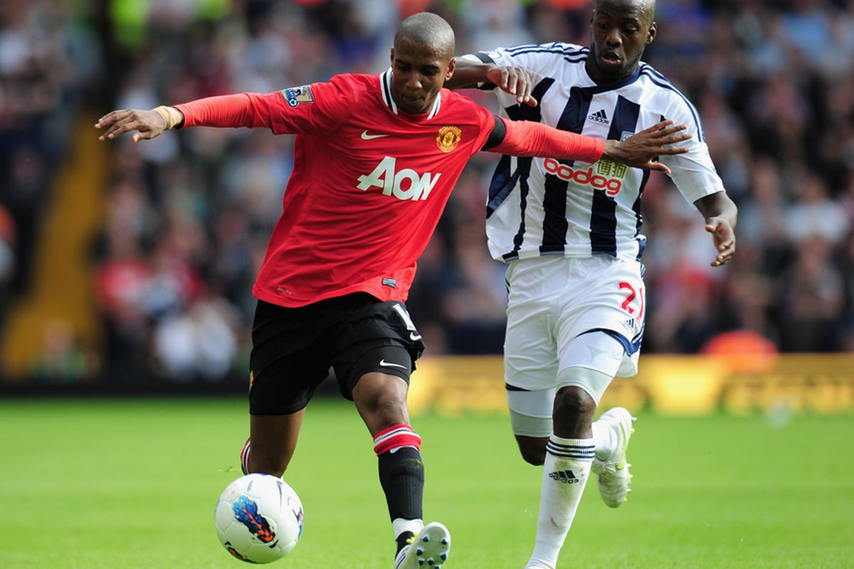 Ashley Young's cross was deflected in for the winner by the Baggies' Steven Reid during the reverse fixture in August.