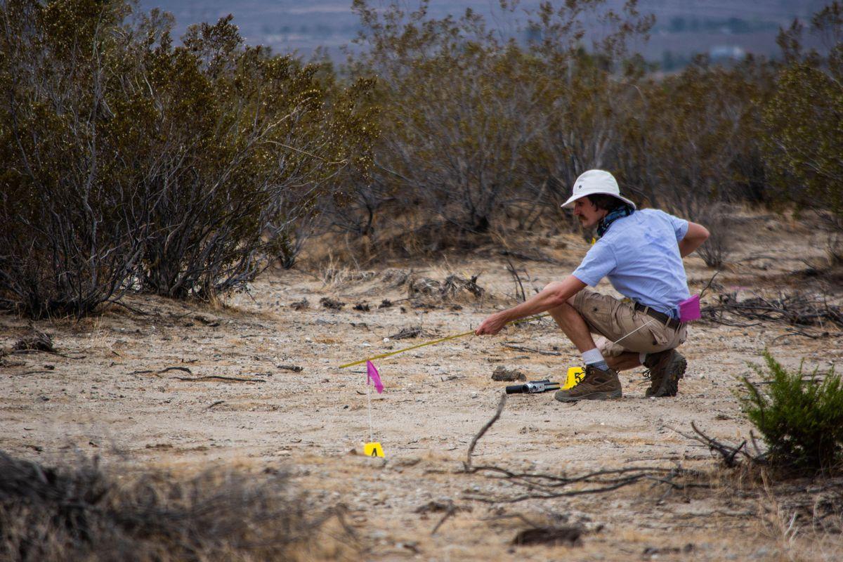 an agent investigates the anomaly in the desert dillonworks twitter - burger fortnite desert