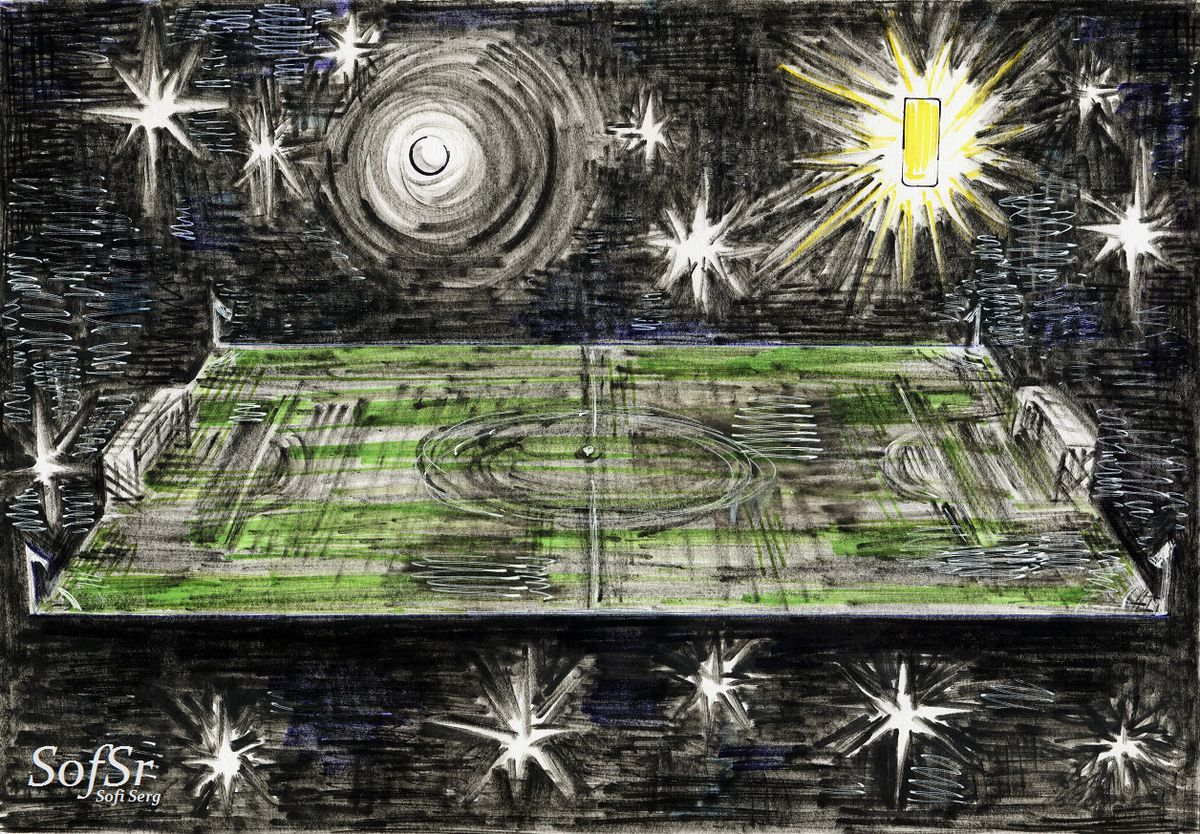 Illustration by Sofi Serg.