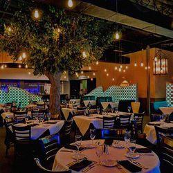 Dining room at Genesis Steakhouse & Wine Bar