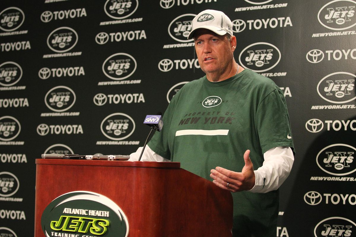 Rex Ryan and the New York Jets begin training camp Friday. Ed Mulholland-US PRESSWIRE