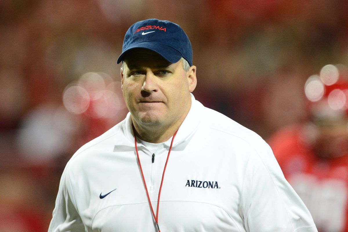 Rich Rodriguez has not exactly been pleased with the offense so far during fall practice