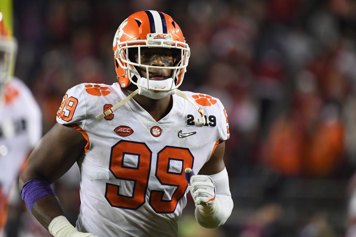 007ccf043 2019 NFL mock draft  49ers trade with Jaguars and take Clelin ...