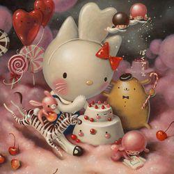<i>Eat Cakes, You Kitty</i> by Brandi Milne, 2014