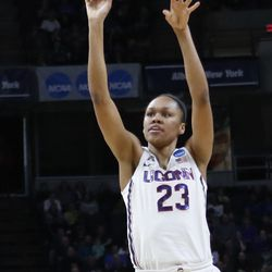 2018 NCAA Women's Basketball Tournament Sweet 16 (Duke Blue Devils vs UConn Huskies)
