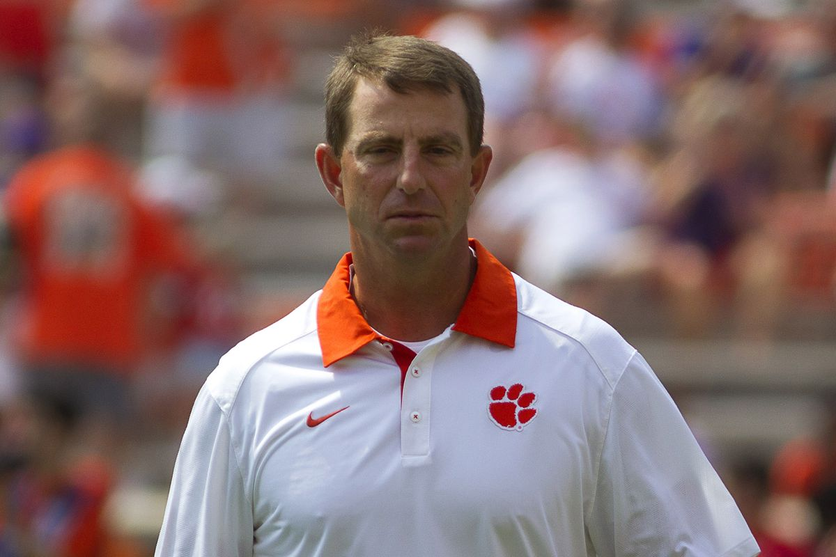 Dabo Swinney embracing GameDay, but not changing message ...
