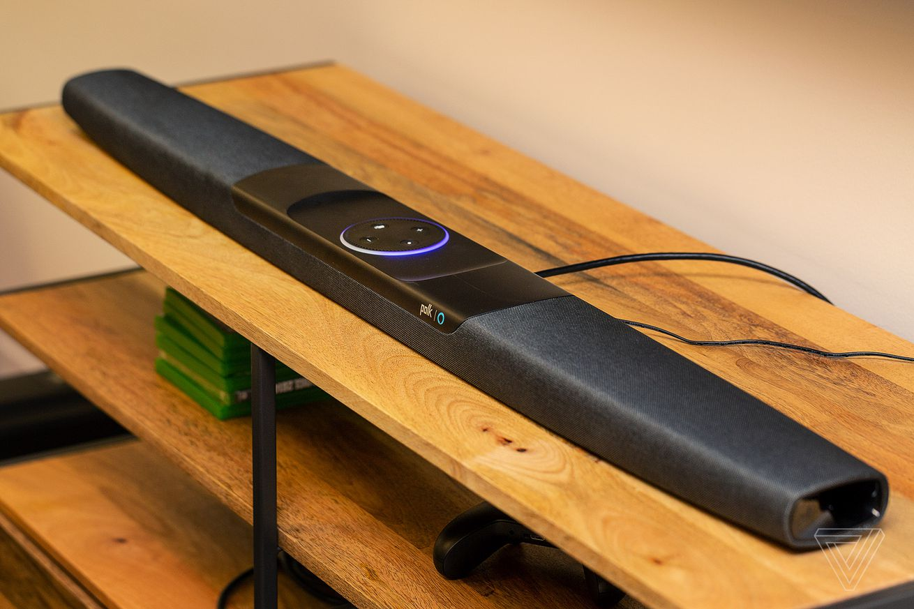 The Polk Command soundbar