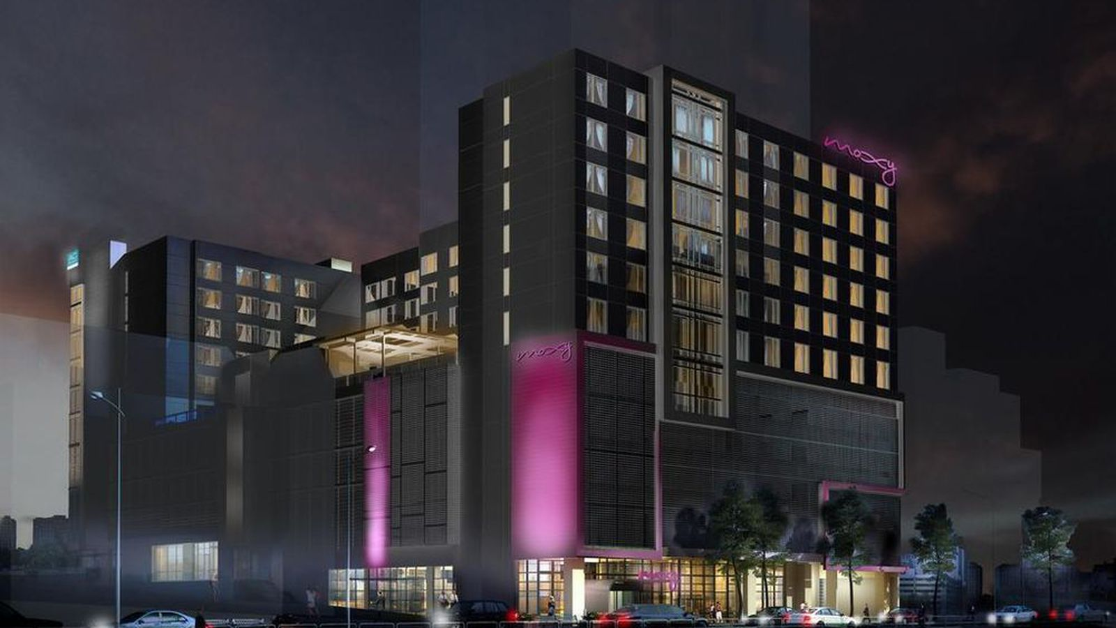 Washington Dc Hotels >> Midtown Atlanta dual-branded hotel construction gets ...