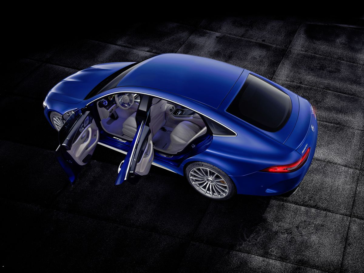 The Mercedes Amg Gt 4 Door Is For Family That Likes To Drift Back Gallery Simple Electric Motor Diagram Image Daimler