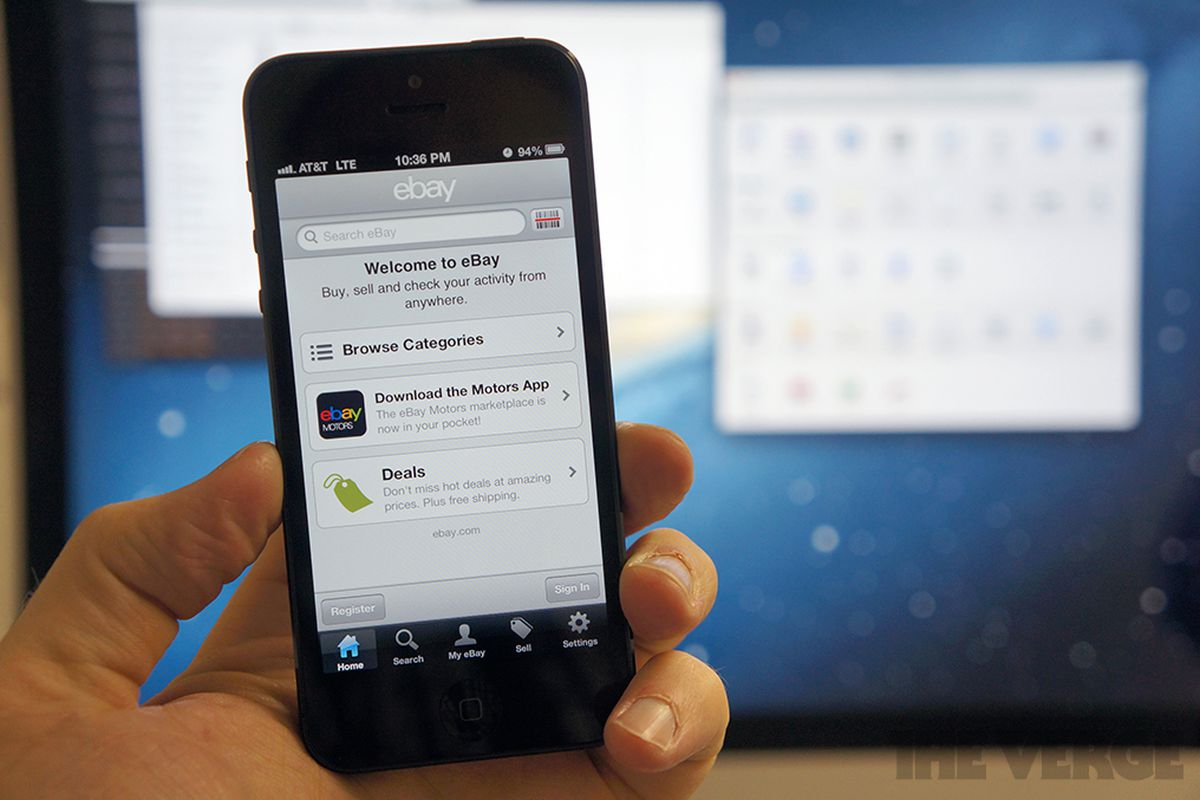 eBay iOS app update makes it easier to sell items directly