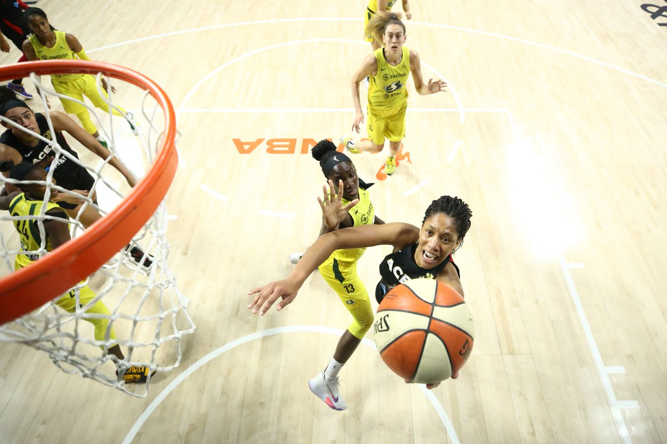 Seattle Storm v Las Vegas Aces