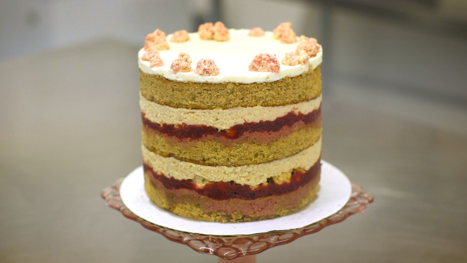 Master the Naked Cake Technique With Christina Tosi's