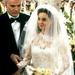Father of the Bride (1991): This dress was perfect after all the angsty build-up, but who could forget the white tennis skirt she wears as she's whisked off to her honeymoon. The '90s!