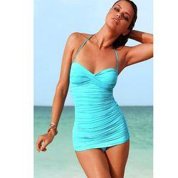 "<a href=""http://www.victoriassecret.com/swimwear/one-piece/retro-one-piece-carmen-marc-valvo?ProductID=4534&CatalogueType=OLS""> Carmen Marc Valvo retro one piece swimsuit</a>, $167 victoriassecret.com"
