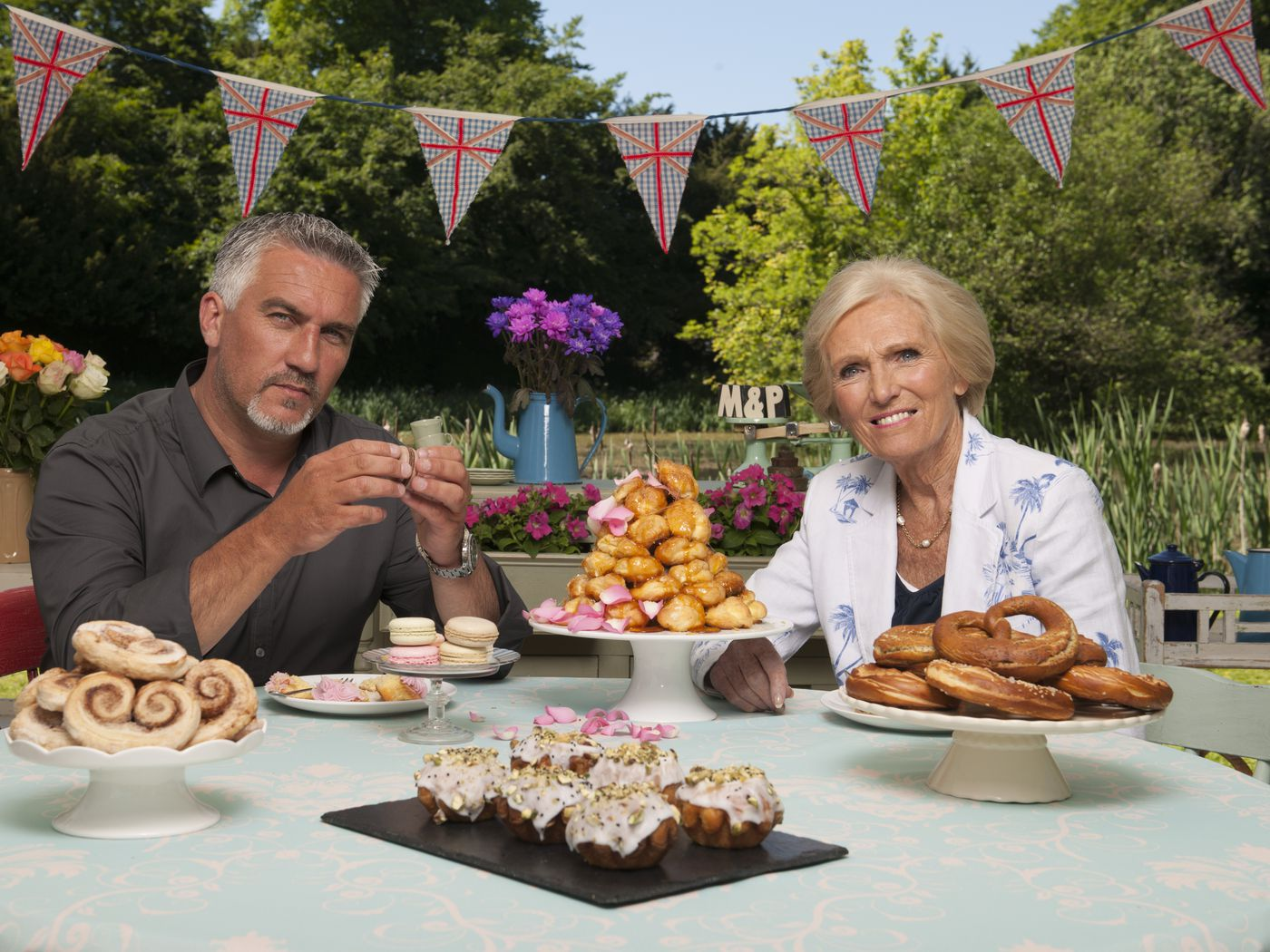 The Great British Baking Show comes back July 1  Its timing