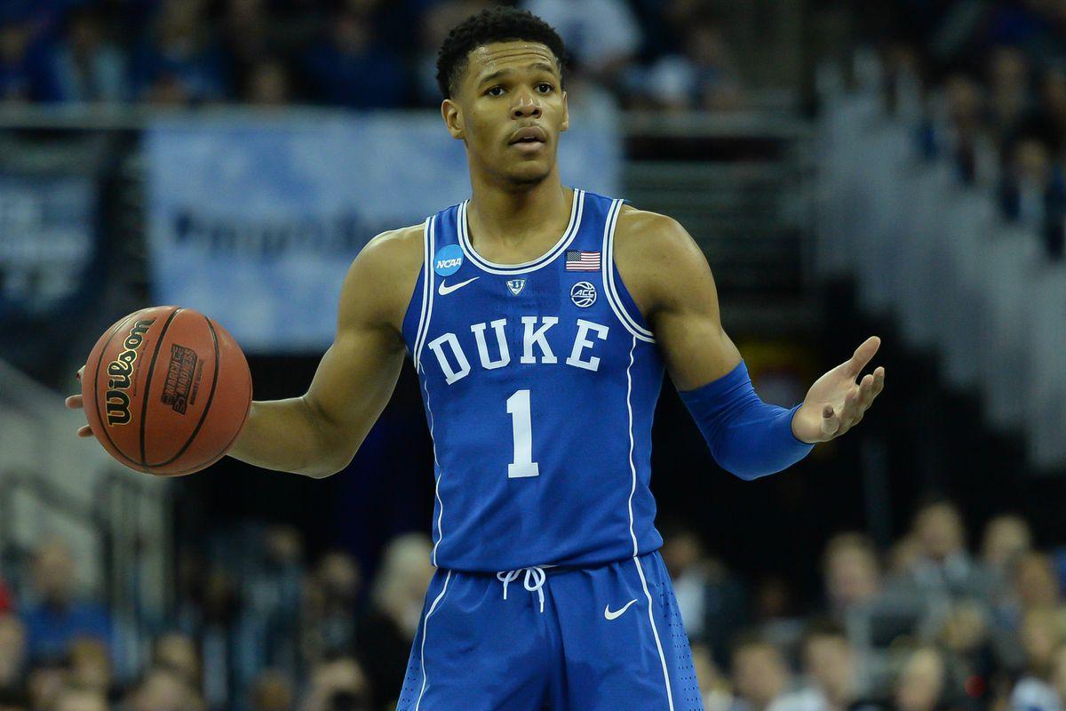 NBA Draft 2018 Scouting Report Duke Point Guard Trevon Duval