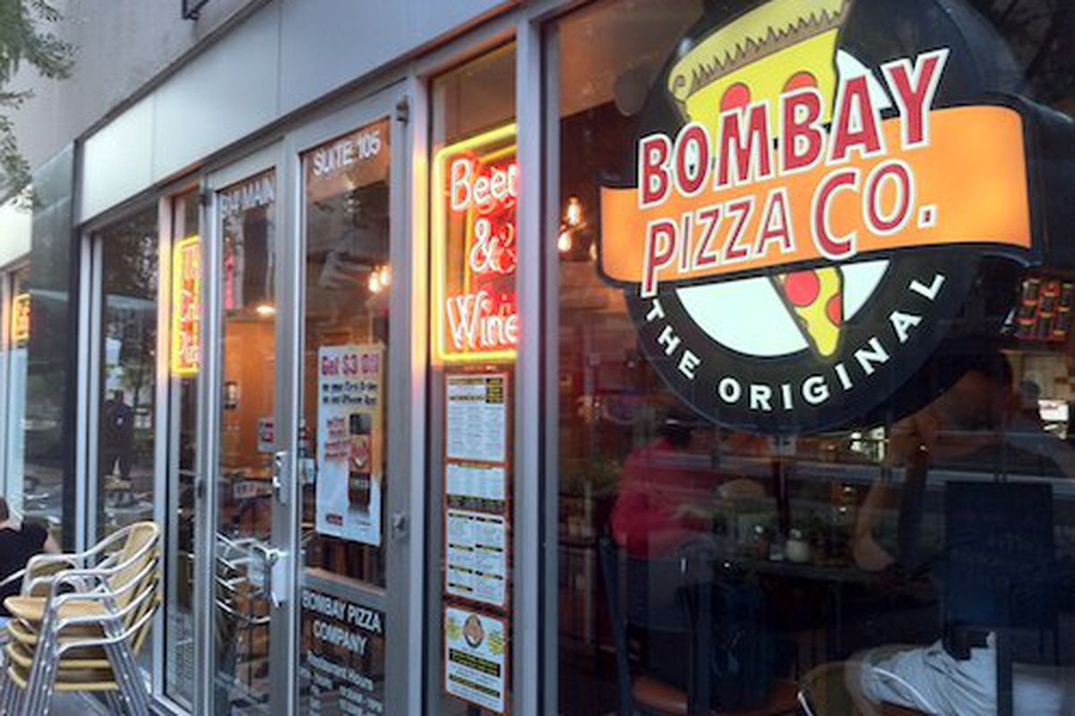 Bombay Pizza downtown.