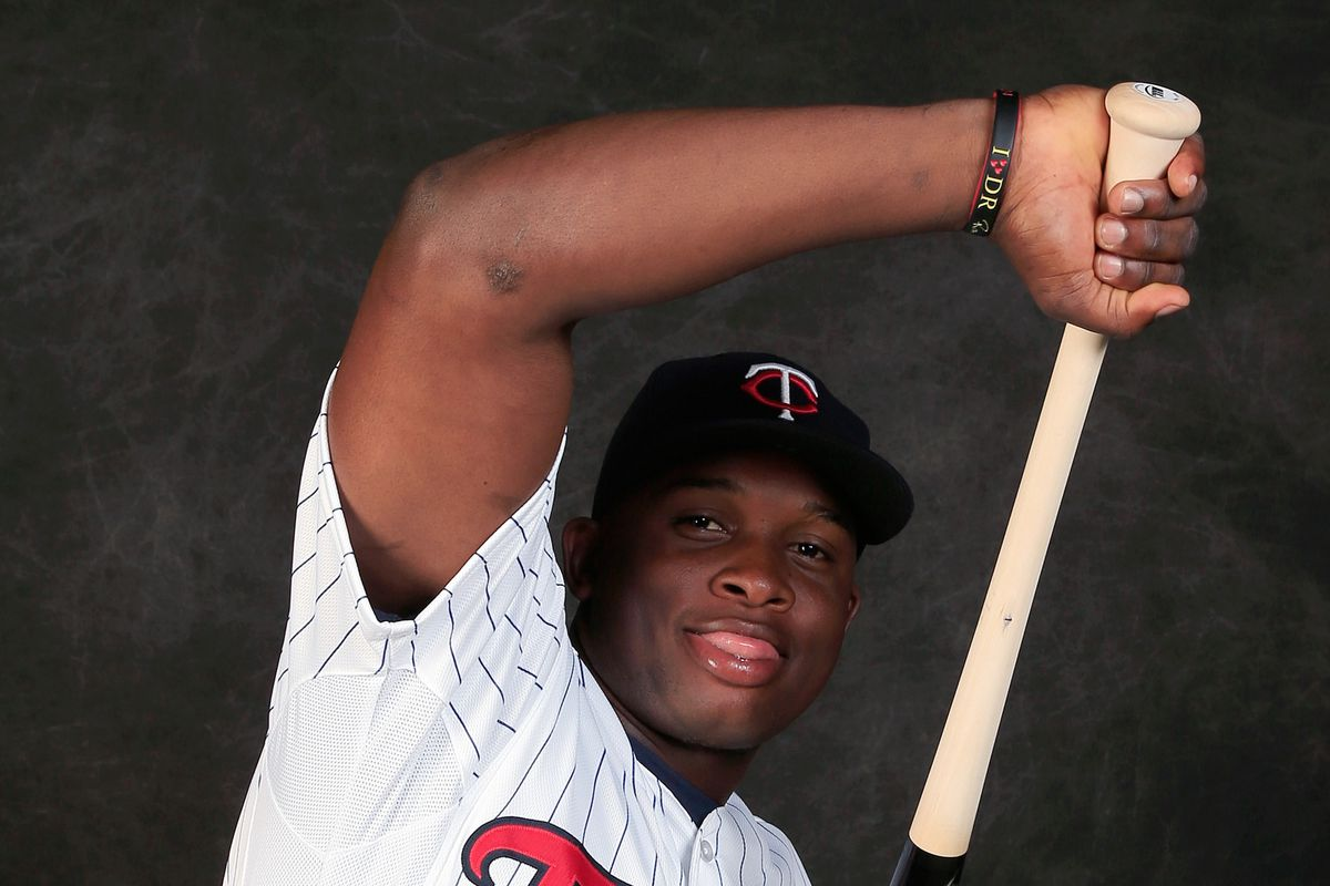Miguel Sano's elbow, in better days.