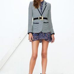 A striped version of the Addicted to Love blazer.
