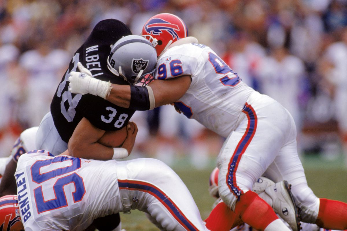 Doing what Ray Bentley liked to do when he was playing with Buffalo
