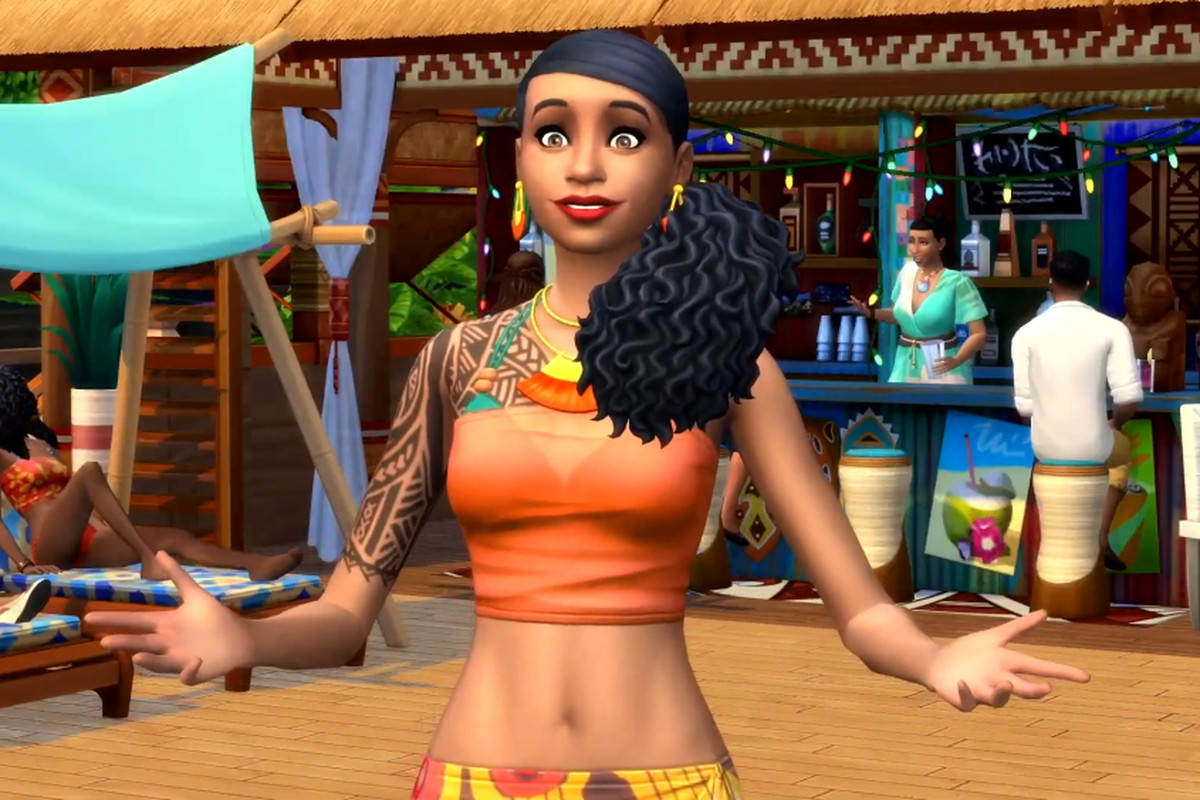 The Sims 4's Island Living expansion is an oasis of escapism