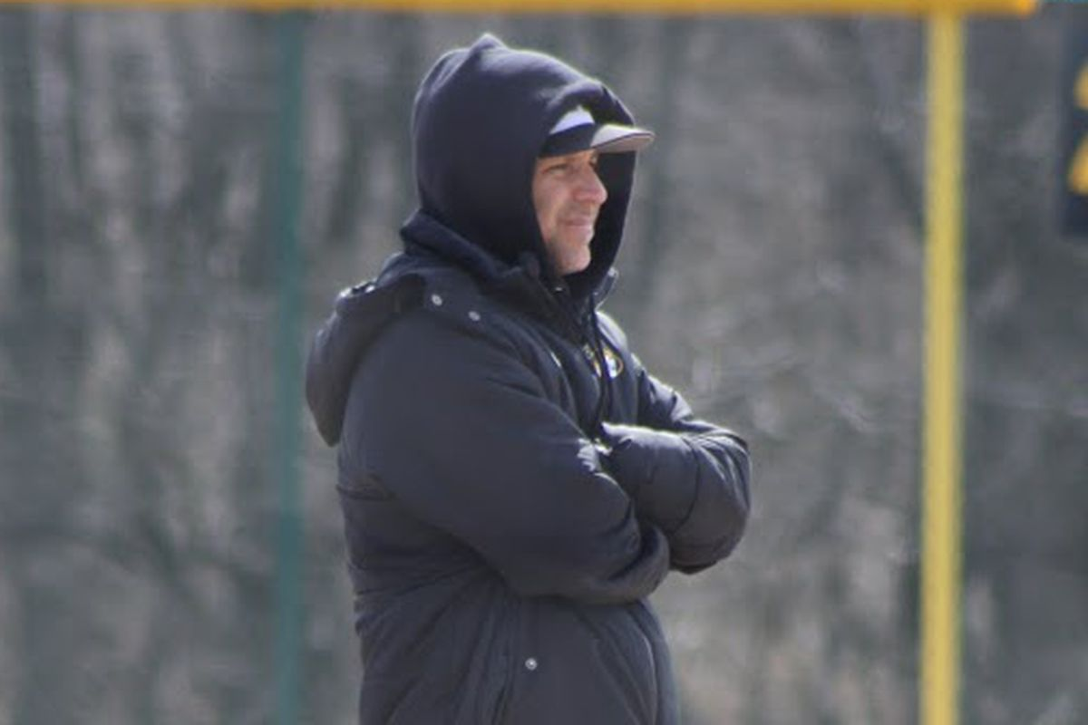 Coach Earleywine wishes for better weather and better pitching