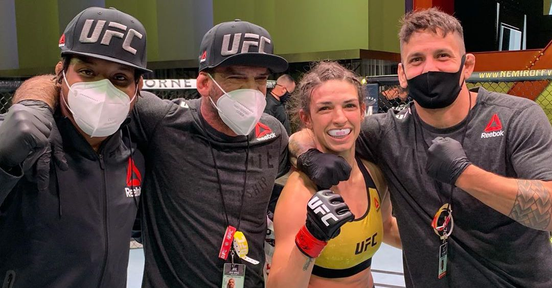 Coach Juan Gomez gives his side of story after scrap with Mackenzie Dern's husband: 'In the end, I lost a friend' thumbnail