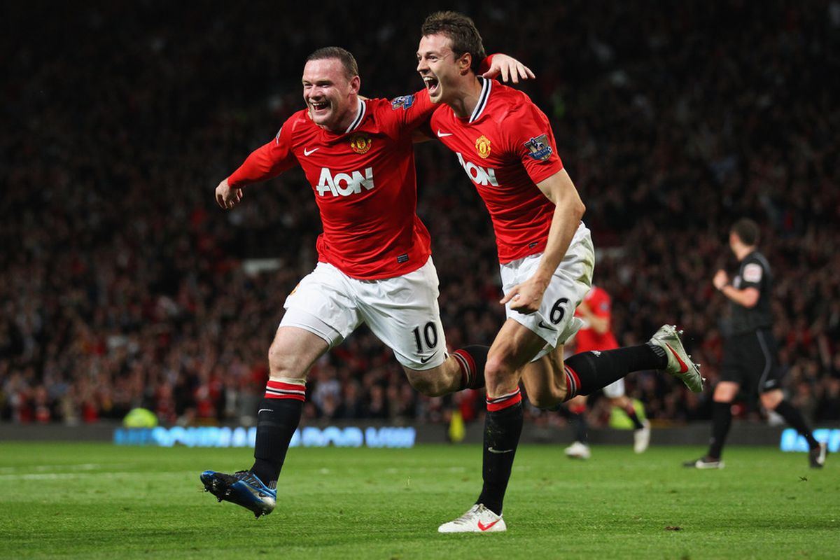 Look how thrilled Wazza and Jonny are to be nominated!