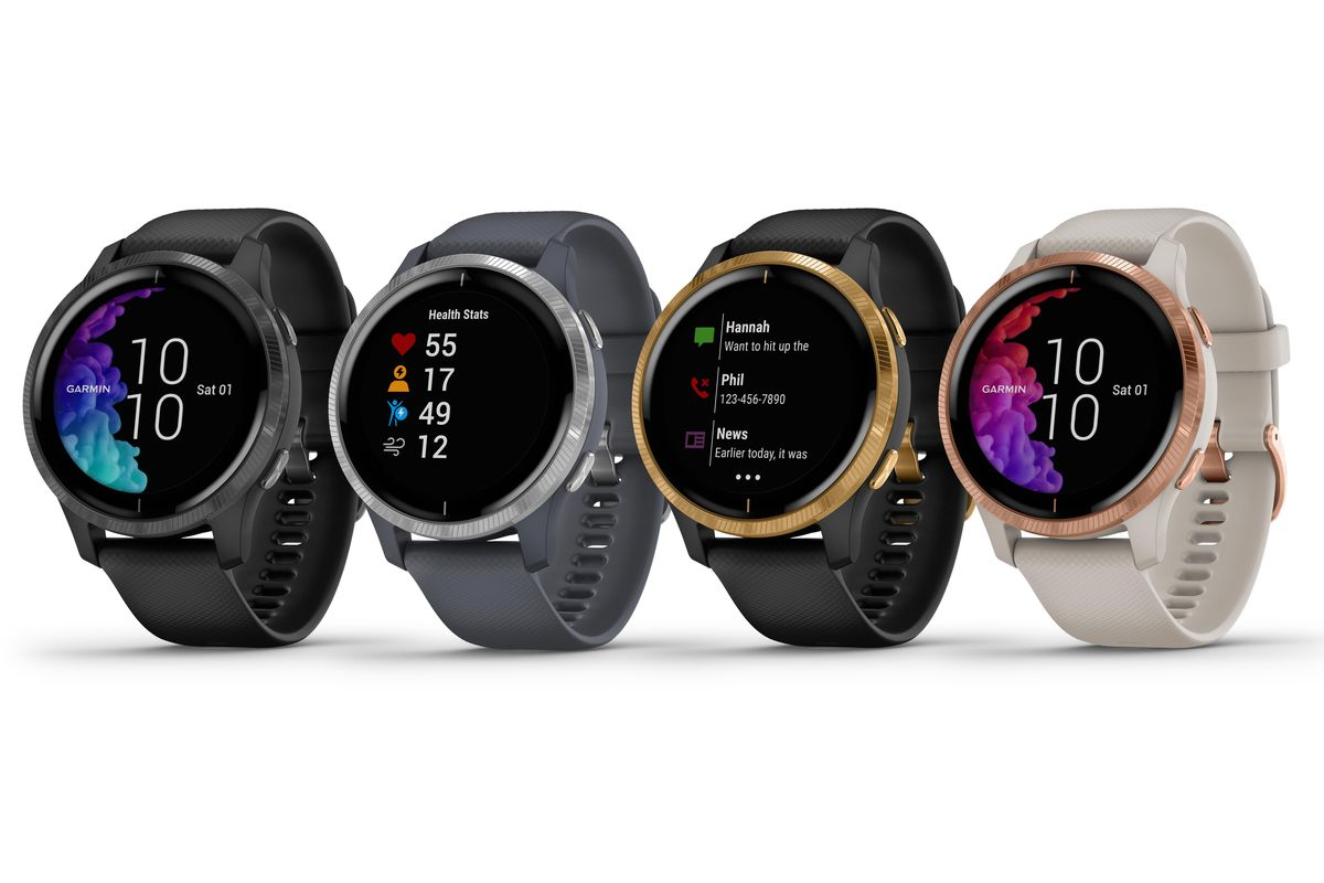 Garmin's new Venu sports watch with OLED display prioritizes