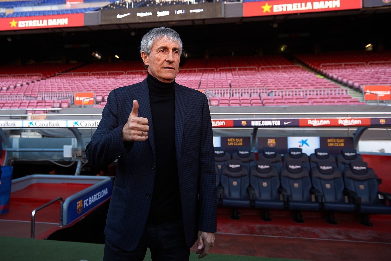 Setien takes Barca squad out for dinner