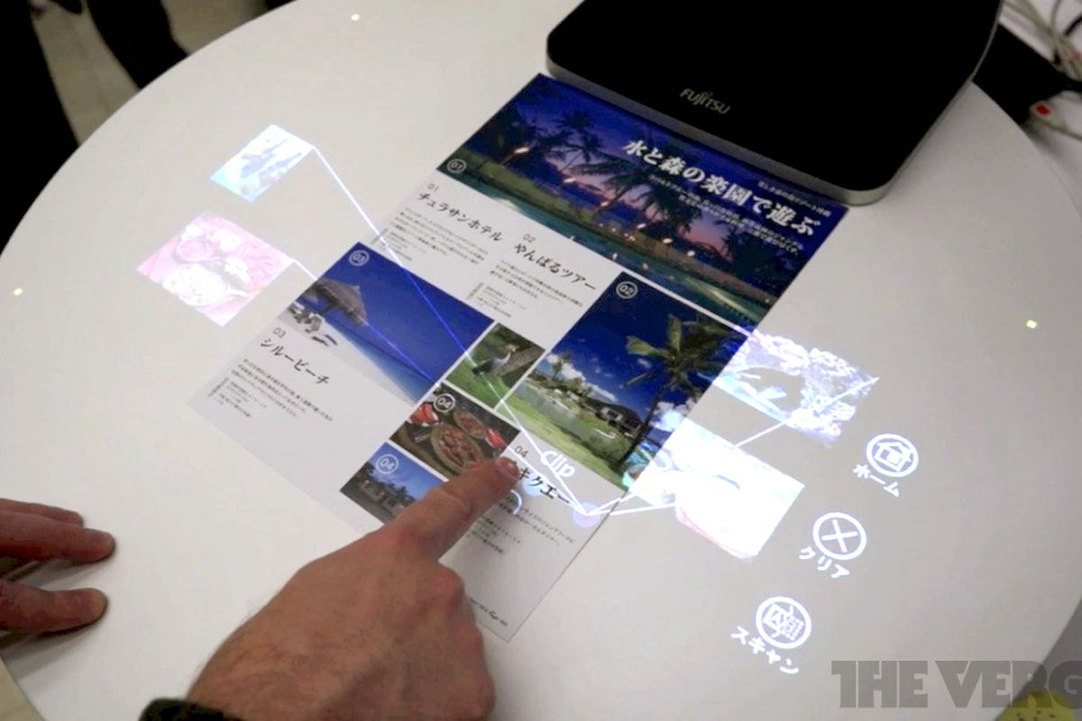 Fujitsu wants to replace your scanner with an interface ...