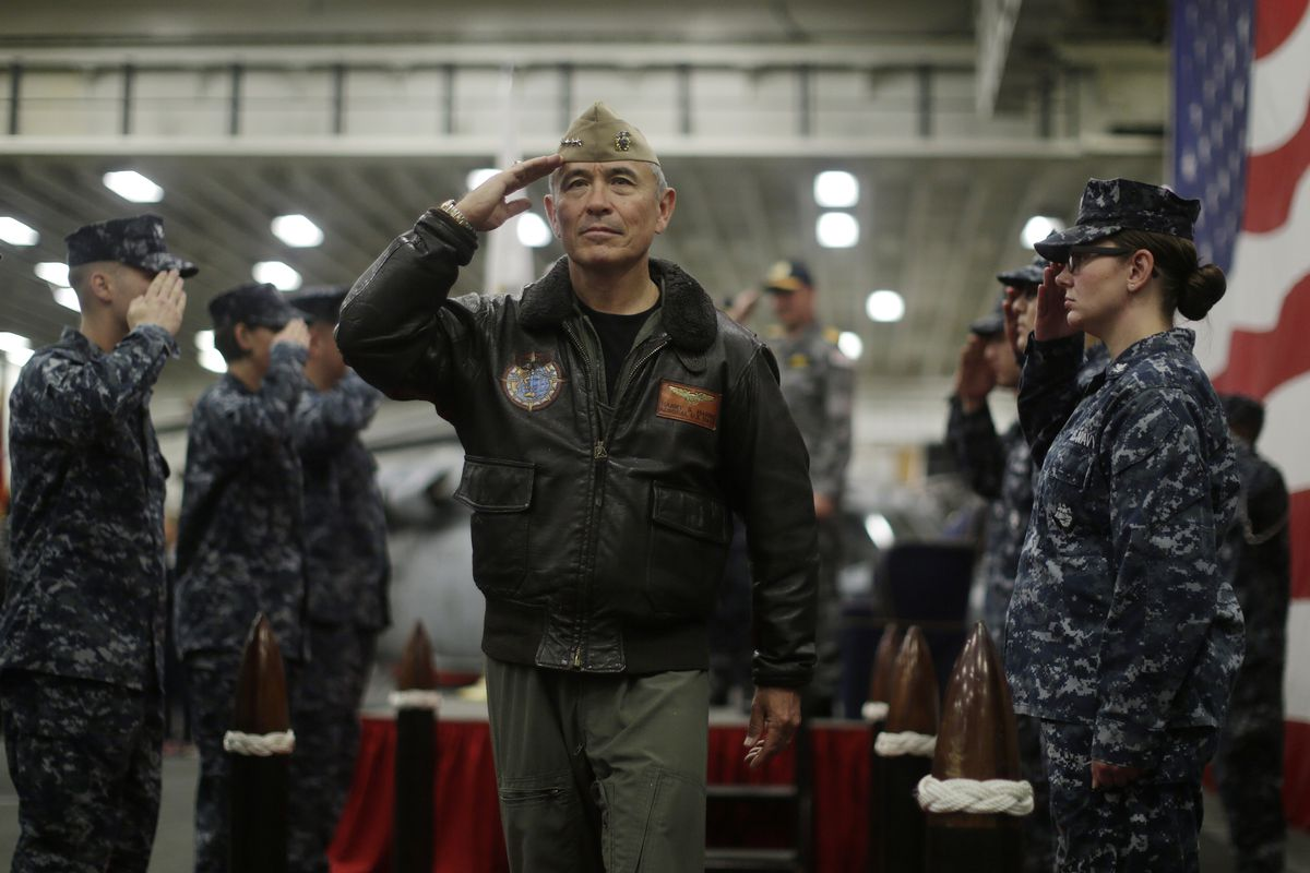 Admiral Harry Harris, who Trump just named to be ambassador to South Korea.