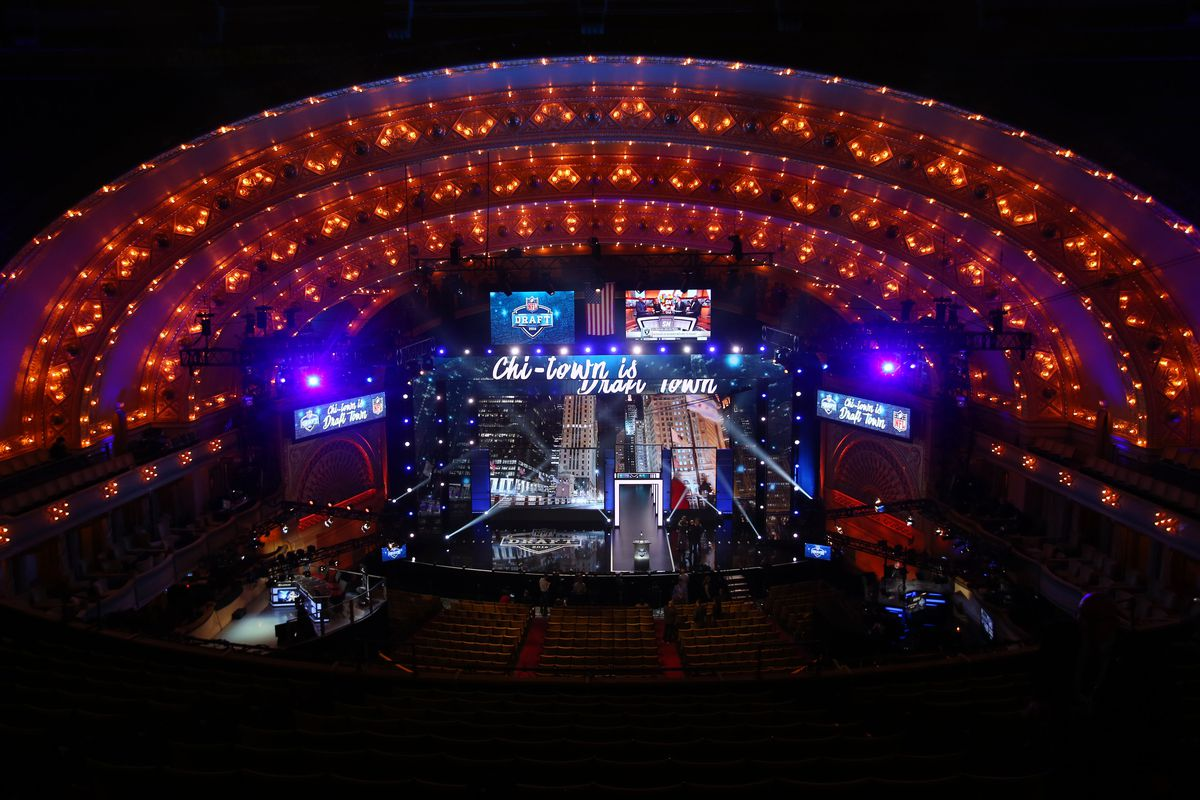 The 2016 NFL Draft stage
