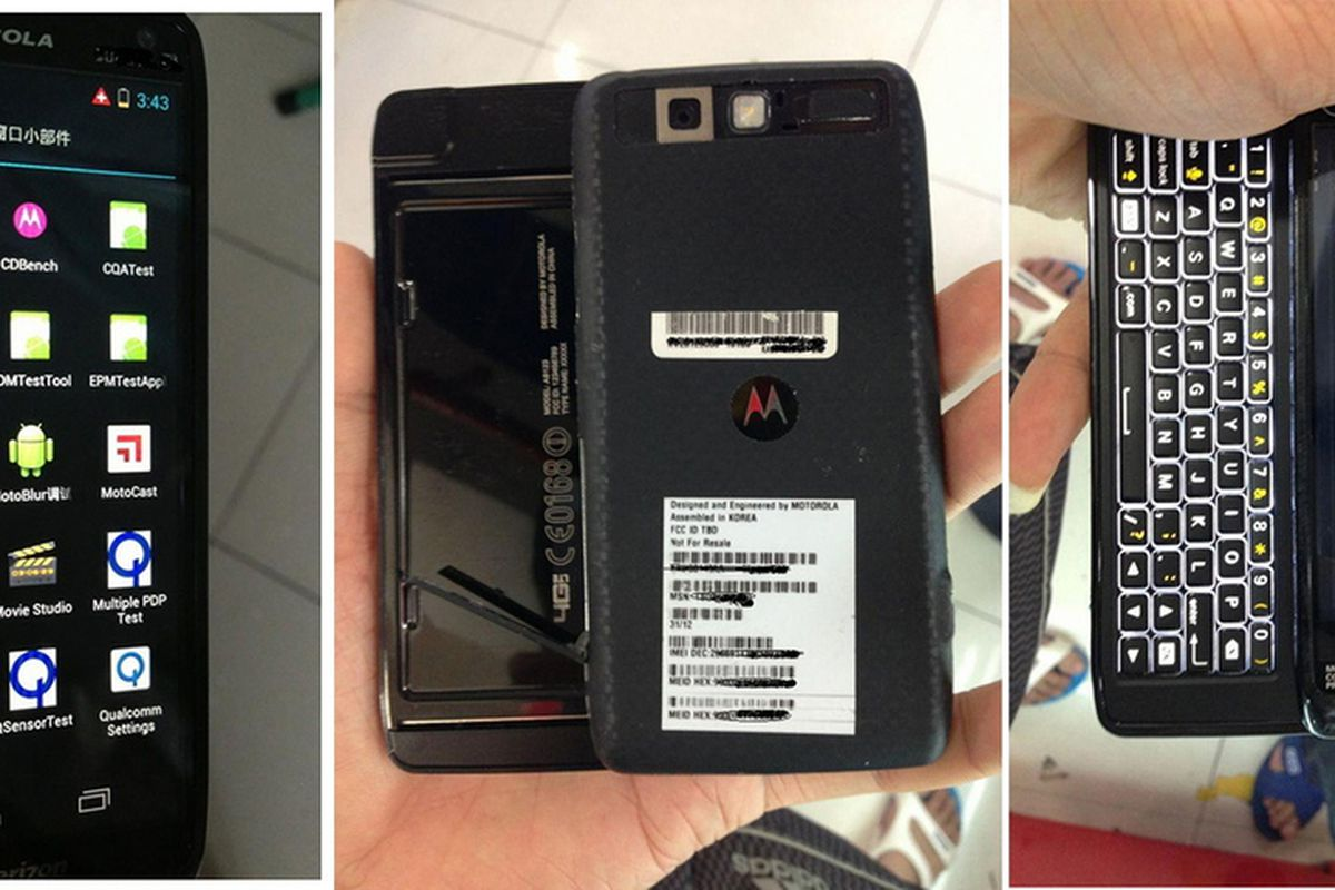QWERTY Lives Alleged Motorola Droid 5 Leaked In Photos