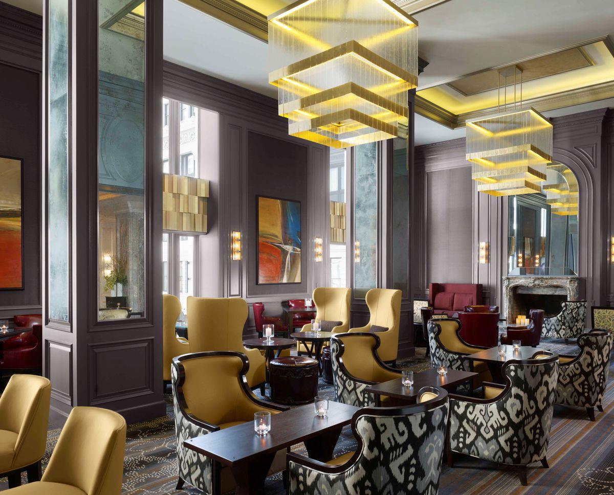 The Lounge at The Ritz-Carlton San Francisco