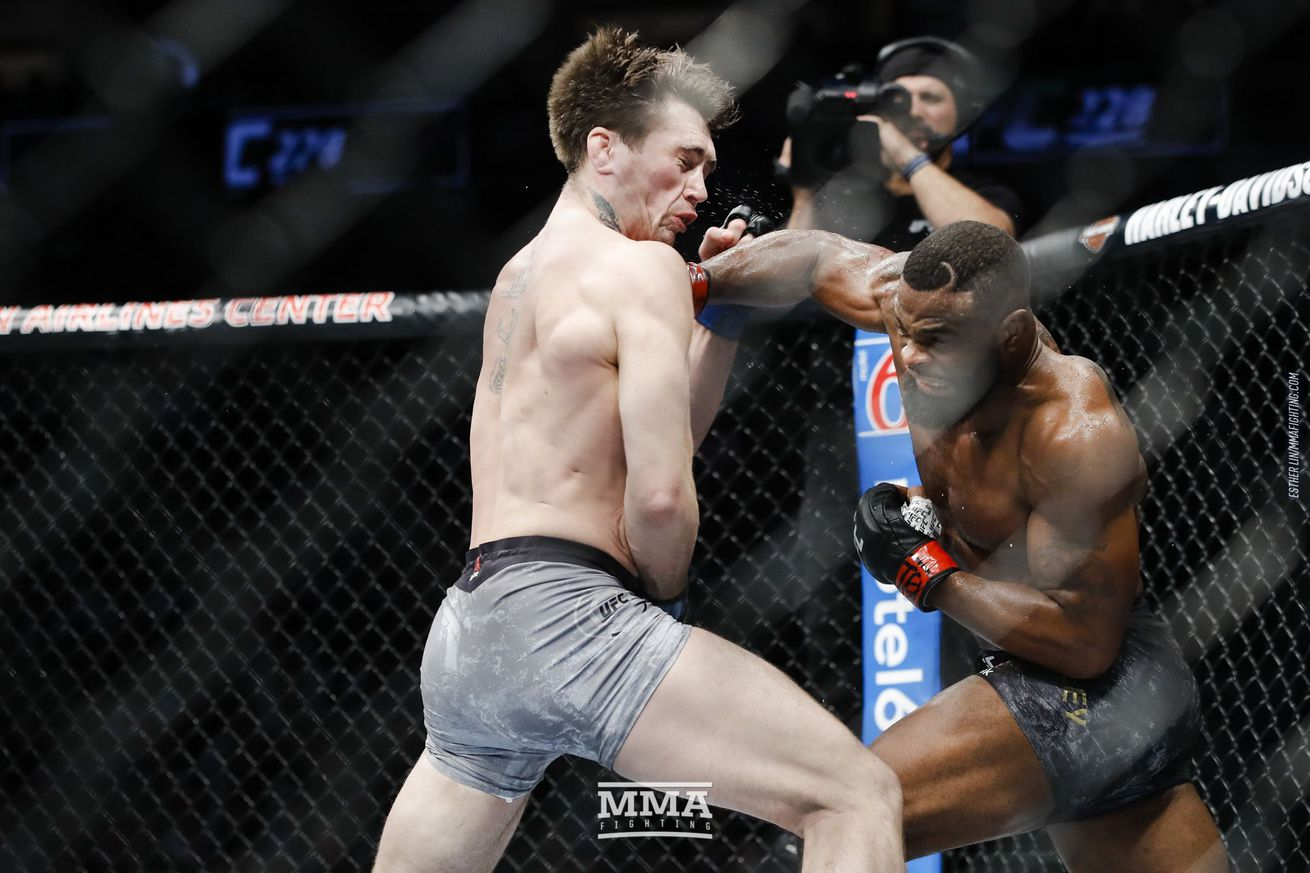 Tyron Woodley retains his title with a submission win over Darren Till at UFC 228.