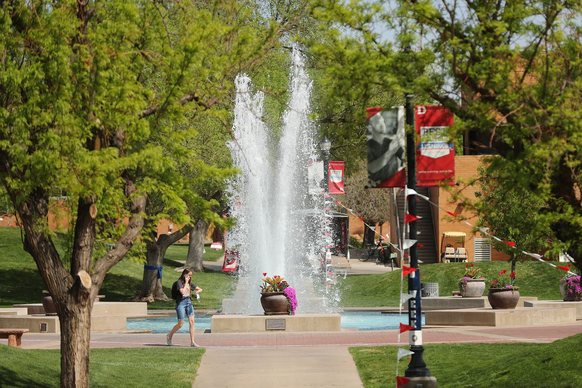 Dixie State University in St. George is pictured on Friday, April 9, 2021.